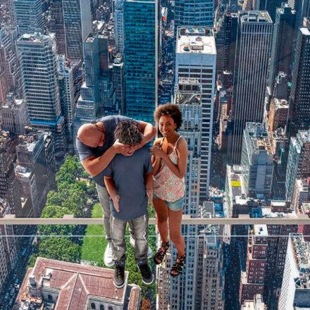 La nueva atracción de Nueva York es un asombroso elevador de cristal