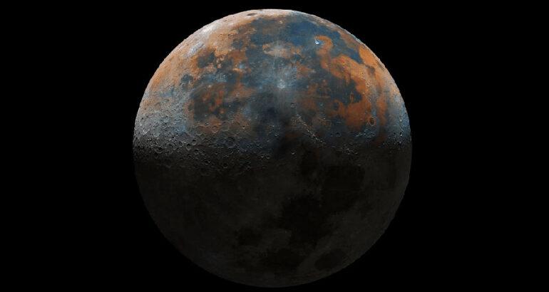 Joven de 16 años captura la 'imagen más clara de la luna' uniendo 50,000 fotografías