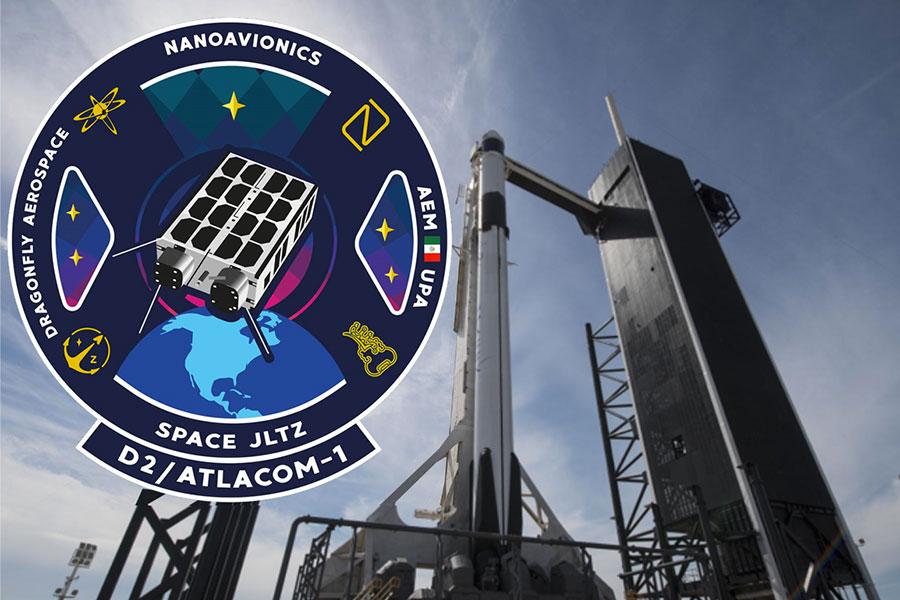 SpaceX lleva nanosatélite mexicano al espacio