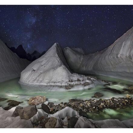 Dron descubre impresionante glaciar escondido en el Himalaya