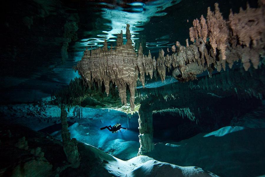 El río subterráneo más largo del mundo se encuentra en México