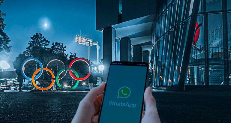 WhatsApp habilita chatbot para estar al día con los Juegos Olímpicos de Tokio 2020