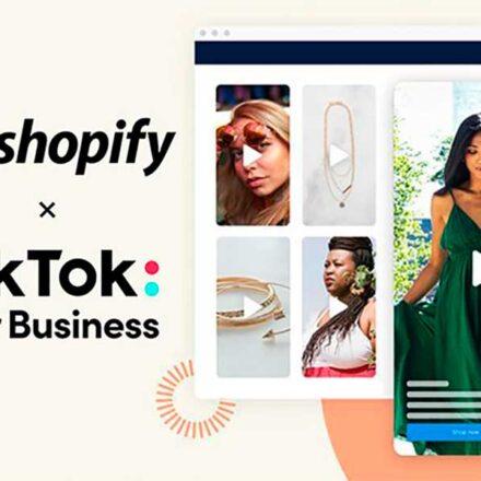 TikTok y Shopify se unen para permitir compras dentro de la app