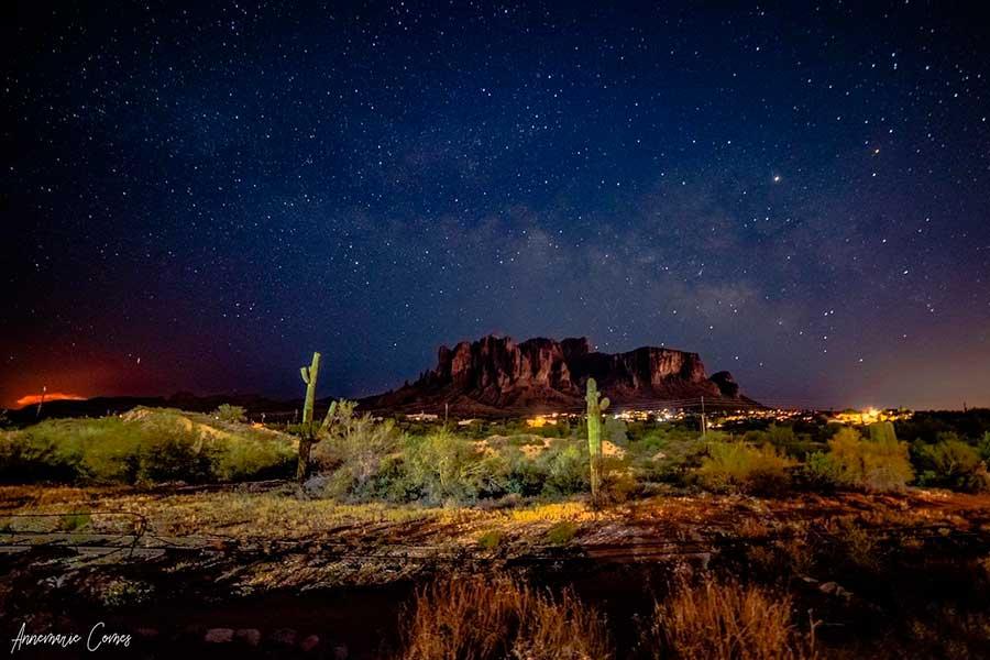 Los 'Cielos Oscuros' de Arizona protegen el medio ambiente a impulsan la investigación y el astroturismo