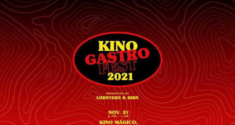 """""""Kino Gastro Fest 2021, by Lobsters and Ribs Kino Bay"""", el evento musical y gastronómico de noviembre"""